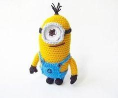 Crocheted minion.