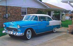 1955 Chevrolet Bel Air 2 Door HT