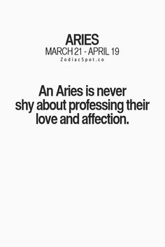 This side of Aries is so NOT me