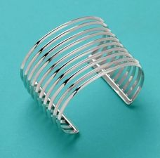 The 10 Bar Cuff by PAZ COLLECTIVE