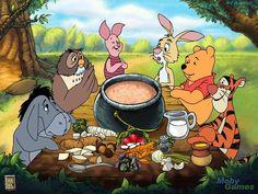 Winnie the Pooh Photo: Piglet's Big Game Eeyore, Tigger Winnie The Pooh, Winnie The Pooh Pictures, Piglet, Winnie The Pooh Quotes, Winnie The Pooh Friends, Pooh Bear, Disney Art, Disney Pixar