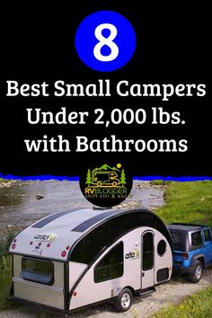 Small Camper Trailers, Small Camping Trailer, Small Travel Trailers, Camper Rental, Small Trailer, Small Campers, Vintage Campers Trailers, Cool Campers, Camping Trailers