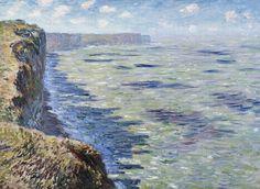 La Mer vue des falaises (C Monet - W 649),1881.