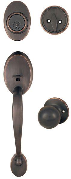My new front door handle but we ordered in black iron. Rectangular ...