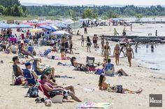 Les étés québécois sont courts et l'immense lac Saint-Jean peut mettre du temps à se réchauffer. Pas au point, toutefois, de se priver de fréquenter ses plages, même pour les plus frileux!