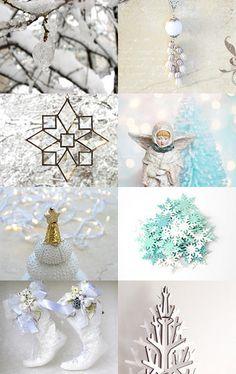White #Christmas by Georgi on Etsy--Pinned with TreasuryPin.com