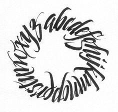 Carol DuBosch | Caligrafía | Pinterest