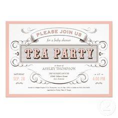 Free Tea Party Invitations Templates | Vintage Tea Party Invitations ...