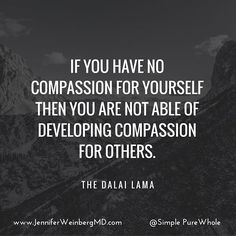 How often do we fail to act in a kind way to ourselves? Maybe you over exercise, overeat, drink more than you intended or self-criticize. This week notice how being more compassionate with yourself can open up being more #kind and aware of others as well! #thewholecure