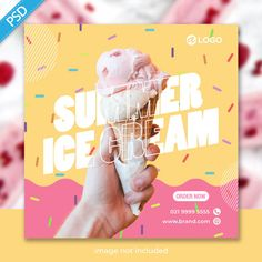 Food Graphic Design, Food Poster Design, Graphic Design Tutorials, Flyer Design, Social Media Template, Social Media Design, Social Media Graphics, Web Banner, Banner Template
