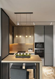 Outstanding modern kitchen room are available on our site. Read more and you wont be sorry you did. Kitchen Design Open, Kitchen Cabinet Design, Interior Design Kitchen, Open Kitchen, Kitchen Designs, Loft Kitchen, Home Decor Kitchen, Home Kitchens, Kitchen Ideas