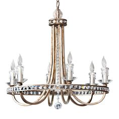 I pinned this Aristocrat 6 Light Chandelier from the AF Lighting Summer Sale event at Joss and Main!