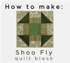 Join McCall's Quilting web editor Valerie Uland and photography stylist Ashley Slupe as they take you step-by-step through making the Shoo Fly Quilt Block, with tips for accurate half-square triangle units. #quilting #video #tutorial