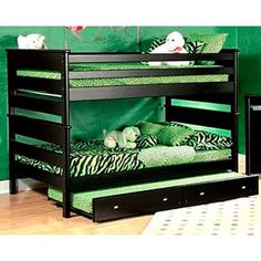Perfect - bunk beds with a trundle underneath