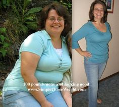 loving life now with 100 pounds gone forever.