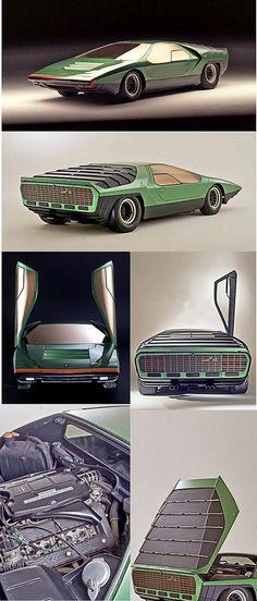 ✨  Alfa Romeo Carabo Concept Car, 1968
