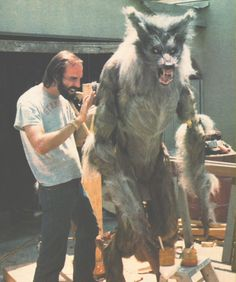 "Special FX werewolf, ""The Howling"""