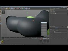Projecting splines on a surface in C4D. Awesome 5 minute tip!