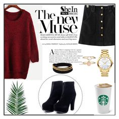 """""""Shein 8"""" by amra-f ❤ liked on Polyvore featuring Nika, Vita Fede, Movado, Accessorize and shein"""
