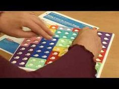 Numicon clip showing games and ideas