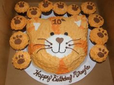 But give it tiger stripes for a Daniel tiger party.