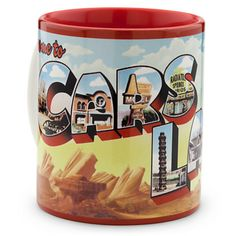 Cars Land Postcard Mug