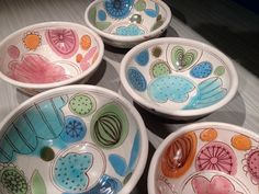 Just purchased one of these bowls from Kari on her Etsy shop!