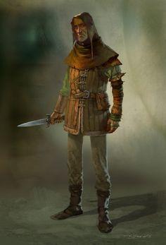 m Rogue Thief urban city river coastal docks lwlvl RPG human NPC Dark Fantasy, Fantasy Rpg, Medieval Fantasy, Fantasy Character Design, Character Concept, Character Inspiration, Character Art, Dnd Characters, Fantasy Characters