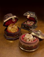 Bring authenticity and brilliance to your Christmas display with the three Wise Men gifts. These ornate, handmade chests come filled with a sample of Frankincense, Myrrh, and a blown glass globe filled with gold to represent each of the historic gifts. Christmas Shows, Gold Christmas, First Christmas, Christmas Pageant, Christian Christmas, Wise Men Gifts, Three Wise Men, Presents For Men, Original Gifts