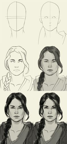 how to draw Katniss Everdeen                                                                                                                                                                                 More