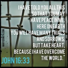 Maybe it's that we #thrive in the middle. #John 16:33