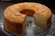 Receta de Bizcocho de naranja (receta de la abuela)
