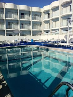 The Standard West Hollywood - Although not the most luxurious hotel, it certainly has that LA cool. Makes you feel like you'll in the LA dream!