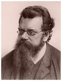 Ludwig Eduard Boltzmann:  Austrian physicist famous for his founding contributions in the fields of statistical mechanics and statistical thermodynamics; one of the most important advocates for atomic theory.  His scientific contributions were in kinetic theory.  His views played an essential role in the development of energetics,the scientific study of energy flows under transformation. At the 1904 World's Fair he lectured in applied mathematics.