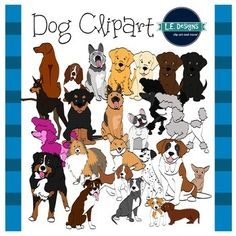 This border pack includes 46 fluffy dogs for your resources and lessons plans. The images are in both color and black and white. Dogs included:- Boxer- American Pitbull Terrier- St. Bernard- Bernese Mountain Dog- Rhodesian Ridgeback- Jack Russell Terrier- Poodles (3)- Black Lab- Yellow Lab- Chocolate Lab- Golden Retriever- Beagle- Basset Hound- Chihuahua- Siberian Husky- German Shepherd Dog- Doberman- Dalmatian- French Bulldog- Corgi- Dachshund- Sheltie- Rottweiler These images are in high…