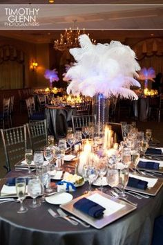 modern Harlem Renaissance wedding decor