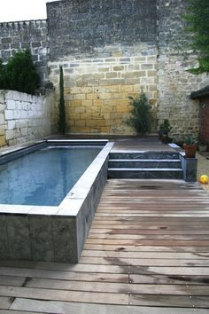 House Remodeling Is Residence Improvement Piscine Plus Mini Swimming Pool, Swiming Pool, Mini Pool, Swimming Pool Designs, Small Backyard Pools, Small Pools, Moderne Pools, Plunge Pool, In Ground Pools