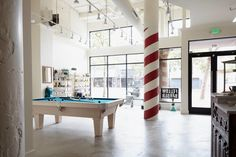 Inside An Amazingly Designed NYC Barbershop. Fellow Barber is the real deal.