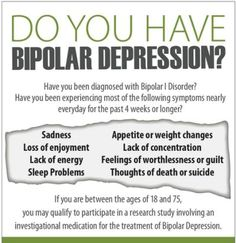 Bipolar Depression : Facts and