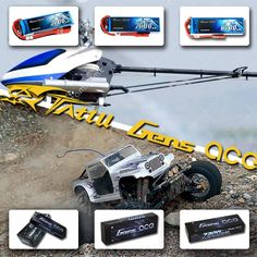 rc car awesome with Gens ace