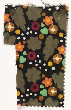 """Textile, """"Kanarienvogel"""", 1910–11"""