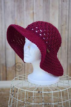 Crochet projects: Crochet Sun Hat Pattern                                                                                                                                                                                 Más