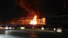 Incendio en central eléctrica rusa causó apagón masivo (+video y fotos)