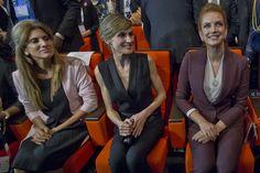 Letizia, Salma et Dina, ensemble à Paris contre le cancer