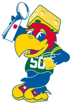 Your parents are Cool!....... For my parents, jayhawk and packers fans!