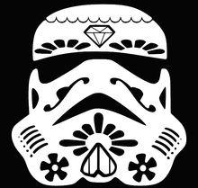 Stormtrooper Sugar Skull
