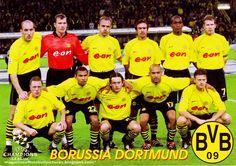 Equipos de fútbol: BORUSSIA DORTMUND contra Liverpool 19/09/2001