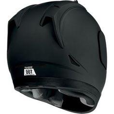 Icon - Alliance Dark Helmet - Rubatone Black