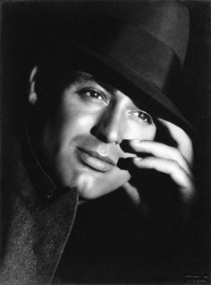 """""""Early Cary Grant Paramount Studios photograph, c. """"Early Cary Grant Paramount Studios photograph, c. Hollywood Icons, Hollywood Actor, Golden Age Of Hollywood, Hollywood Stars, Classic Hollywood, Old Hollywood, Cary Grant Daughter, Cary Grant Wives, Old Movie Stars"""