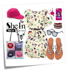 """""""SheIn - Shine out"""" by leotheo on Polyvore featuring Post-It and New Look"""